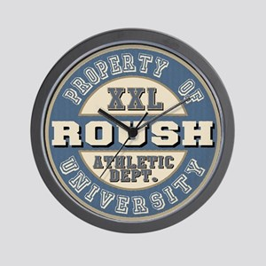 Roush Athletic Department Wall Clock