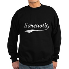 Sarcastic Sweatshirt (dark)
