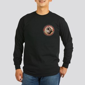 Squirrely and Proud Long Sleeve Dark T-Shirt