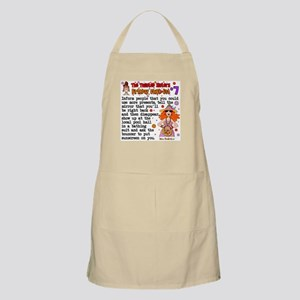 Twisted Sister Chicklist #7 BBQ Apron