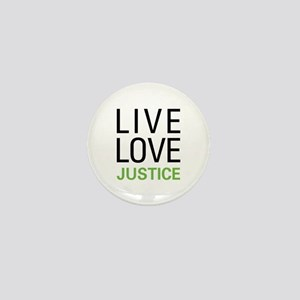 Live Love Justice Mini Button