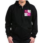 DIVA Design! Zip Hoodie (dark)