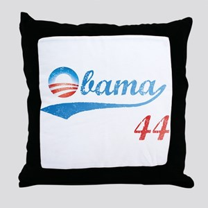 PRESIDENT OBAMA 44 Throw Pillow