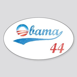 PRESIDENT OBAMA 44 Oval Sticker