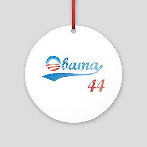 PRESIDENT OBAMA 44 Ornament (Round)