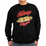 Love Chicago Pizza Sweatshirt (dark)