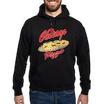 Love Chicago Pizza Hoodie (dark)