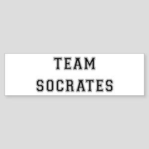 Team Socrates Bumper Sticker