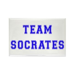 Team Socrates Rectangle Magnet