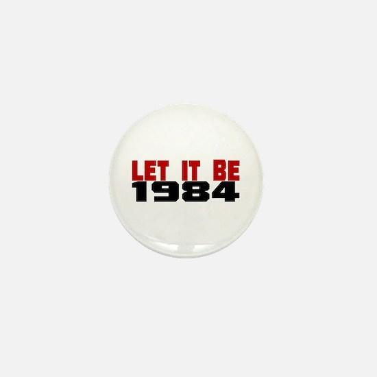 LET IT BE 1984 Mini Button