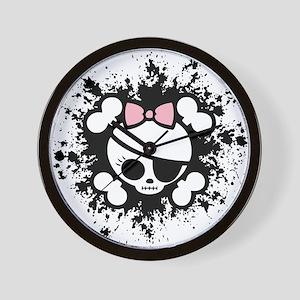 Molly Splat Wall Clock