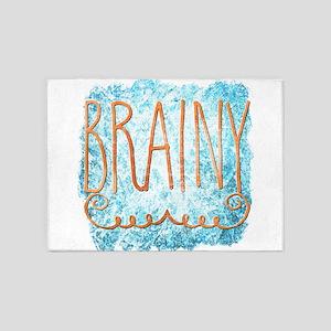 Brainy 5'x7'Area Rug