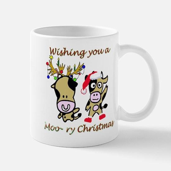 Cow Christmas Mug