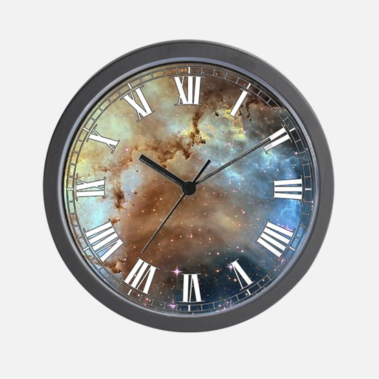Rossette Nebula Wall Clock