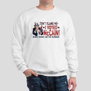I Voted McCain Sweatshirt
