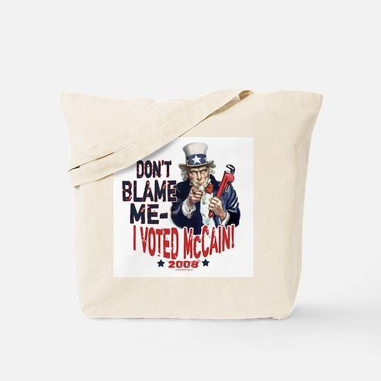 I Voted McCain Tote Bag