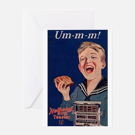 Ummm - Toast! Greeting Card
