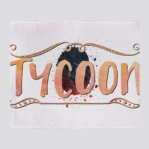 Tycoon Throw Blanket