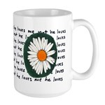 He Loves Me Large Mug