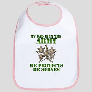 Army Dad Bib