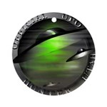 Official UFO Hunter Ornament (Round)