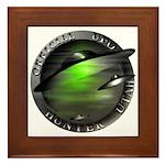 Official UFO Hunter Framed Tile