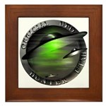 Official UFO Hunter Framed Tile