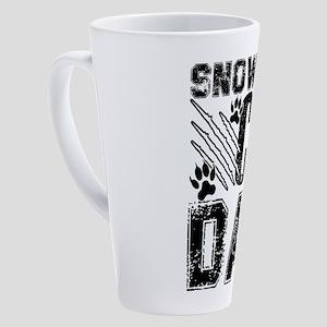 Snowshoe Cat 17 oz Latte Mug