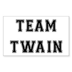 Team Twain Rectangle Decal