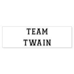 Team Twain Bumper Bumper Sticker