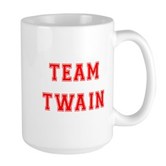 Team Twain Large Mug