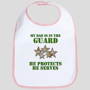 National Guard Dad Bib