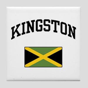 Kingston Jamaica Tile Coaster