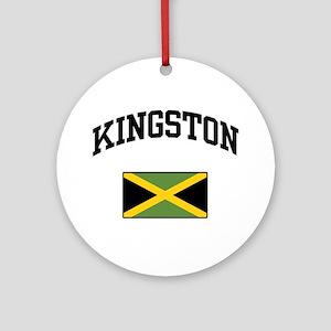Kingston Jamaica Ornament (Round)