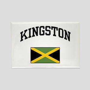 Kingston Jamaica Rectangle Magnet