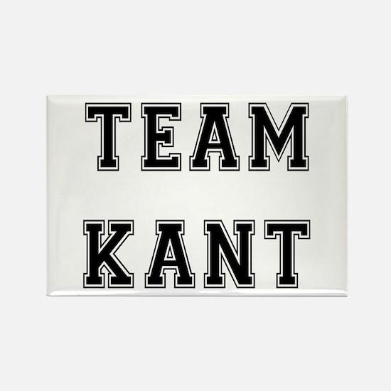 Team Kant Rectangle Magnet
