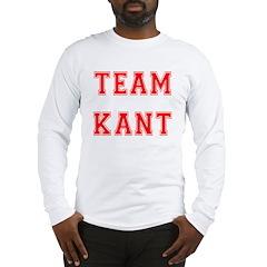 Team Kant Long Sleeve T-Shirt