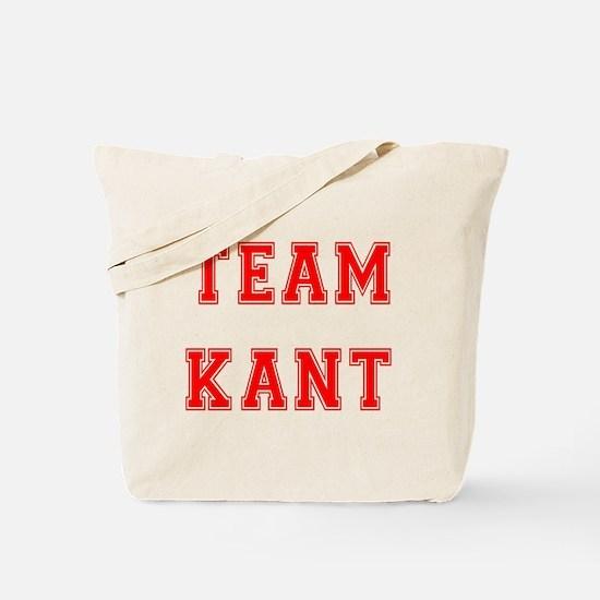 Team Kant Tote Bag