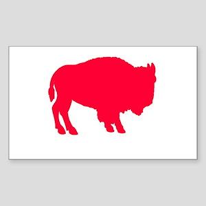 Buffaladies Rectangle Sticker