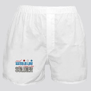 Proud Sister-In-Law of a US S Boxer Shorts