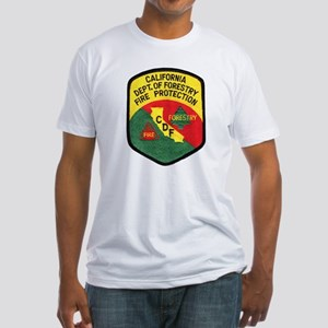 CDF Forestry Fire Fitted T-Shirt
