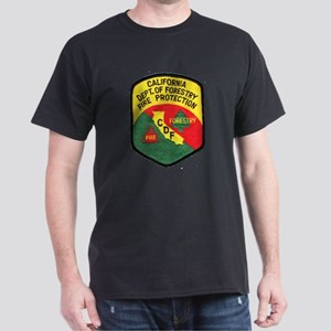 CDF Forestry Fire Dark T-Shirt