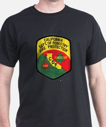 CDF Forestry Fire T-Shirt
