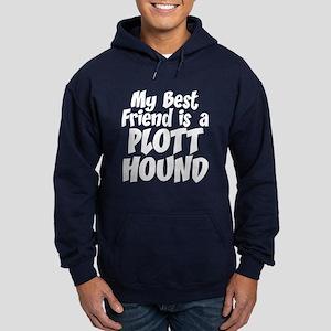 Plott Hound FRIEND Hoodie (dark)