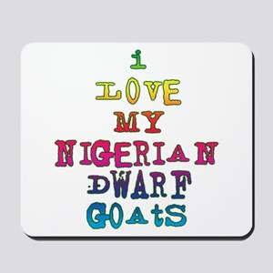 Nigerian Dwarf Mousepad