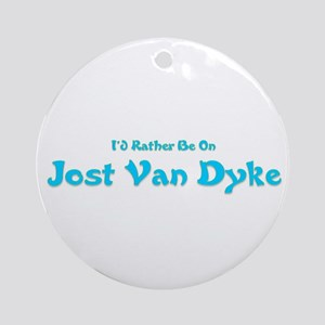 I'd Rather Be...JVD Ornament (Round)