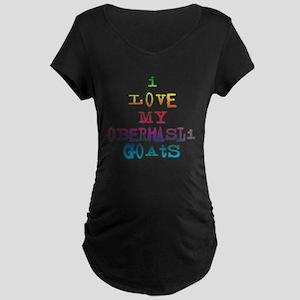 Oberhasli Maternity Dark T-Shirt