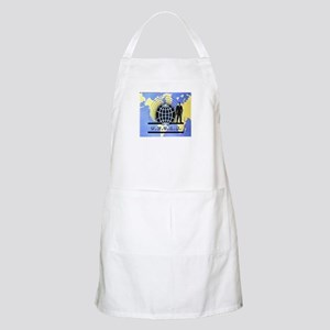 THE MAN FROM UNCLE BBQ Apron