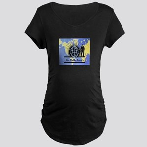 THE MAN FROM UNCLE Maternity Dark T-Shirt