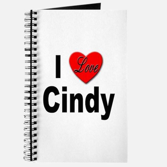 I Love Cindy Journal